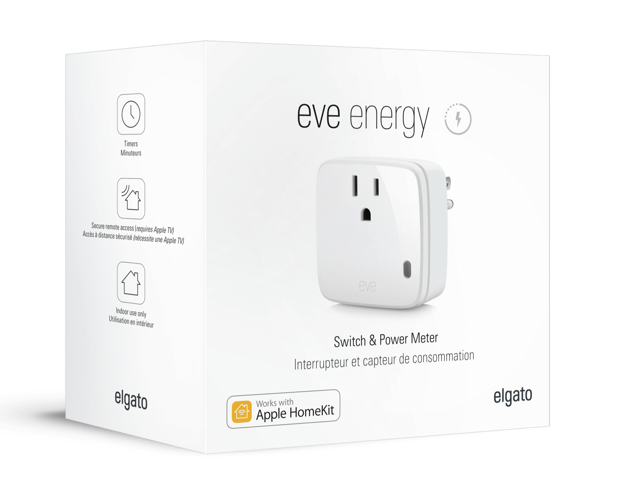 Eve Energy Low Voltage Remote Mains Switch Power