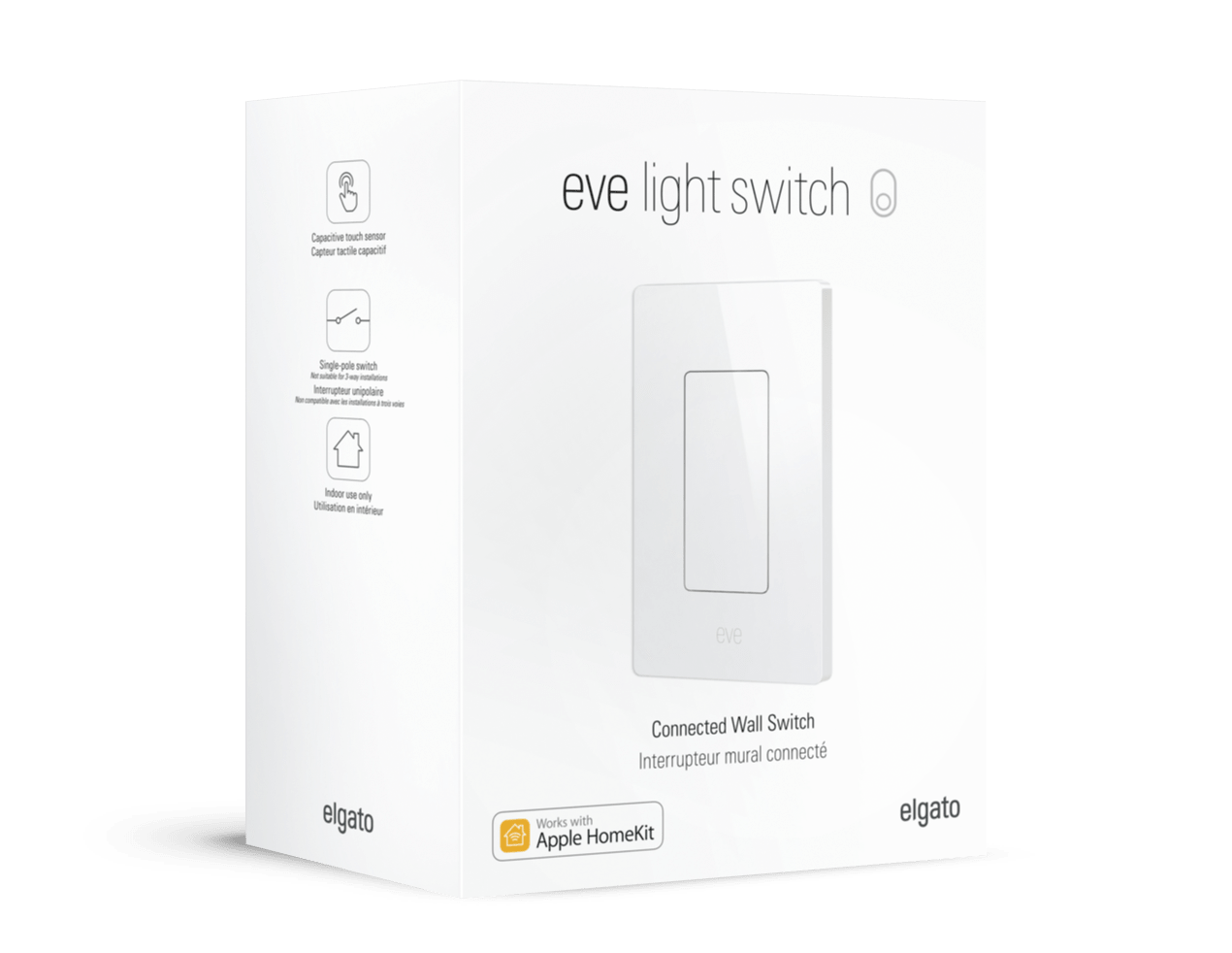 Eve light switch evehome technical details aloadofball Choice Image