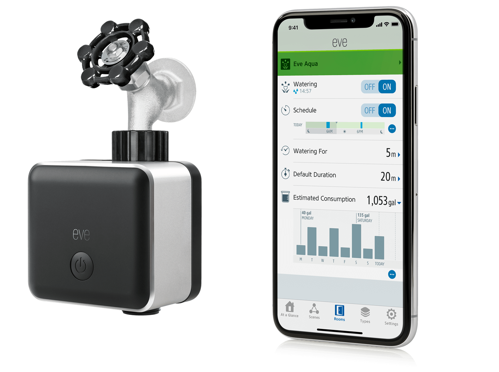 Eve Aqua Garden Timer With Remote Control Learn More